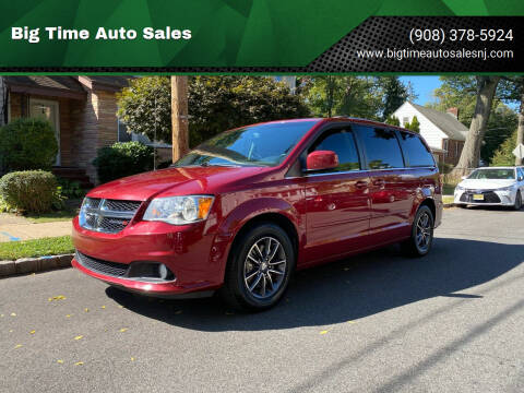 2016 Dodge Grand Caravan for sale at Big Time Auto Sales in Vauxhall NJ