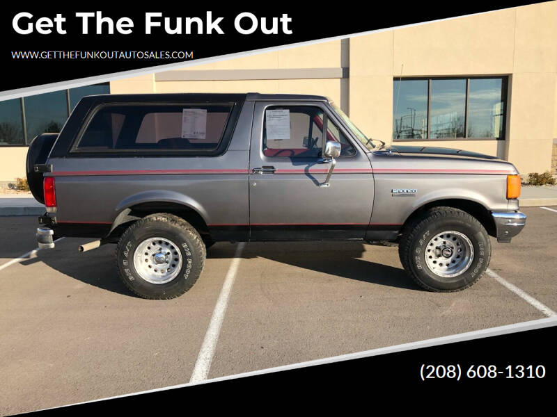 1987 Ford Bronco for sale in Nampa, ID