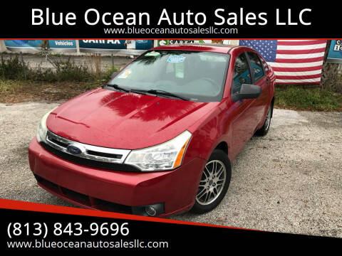 2010 Ford Focus for sale at Blue Ocean Auto Sales LLC in Tampa FL