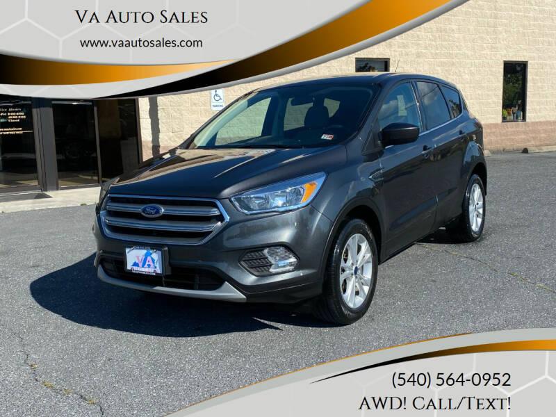 2017 Ford Escape for sale at Va Auto Sales in Harrisonburg VA