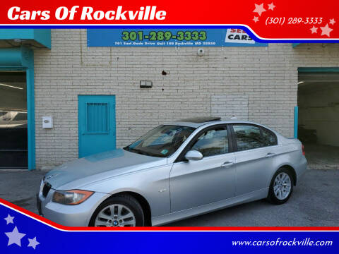 2007 BMW 3 Series for sale at Cars Of Rockville in Rockville MD