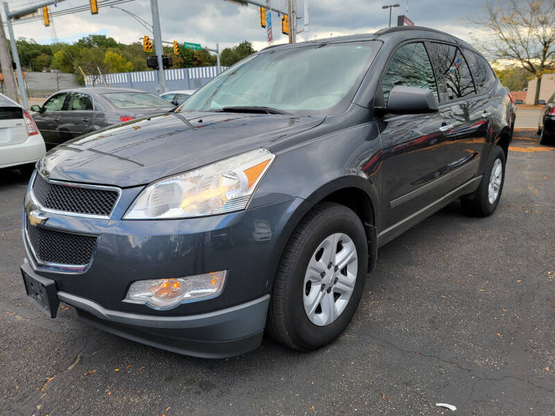 2011 Chevrolet Traverse for sale at Cedar Auto Group LLC in Akron OH