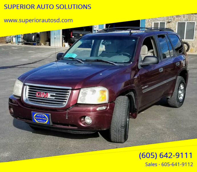 2006 GMC Envoy for sale at SUPERIOR AUTO SOLUTIONS in Spearfish SD