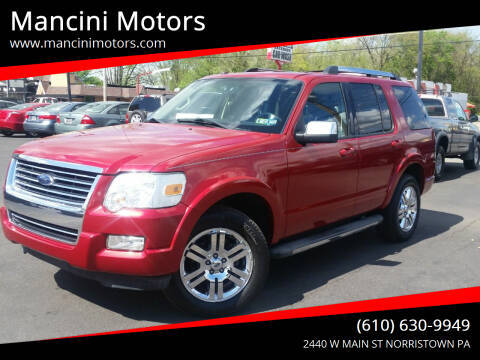 2010 Ford Explorer for sale at Mancini Motors in Norristown PA