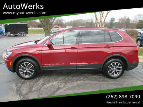 2019 Volkswagen Tiguan for sale at AutoWerks in Sturtevant WI