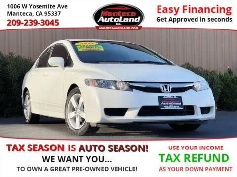 2009 Honda Civic for sale at Manteca Auto Land in Manteca CA