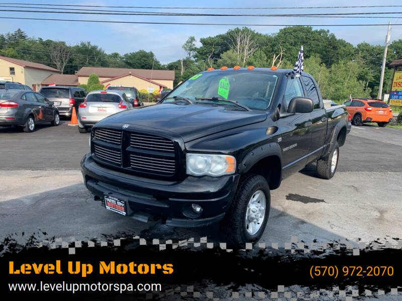 2003 Dodge Ram Pickup 2500 for sale at Level Up Motors in Tobyhanna PA