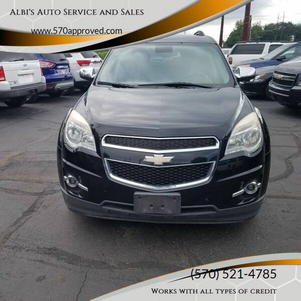 2012 Chevrolet Equinox for sale at Albi's Auto Service and Sales in Archbald PA