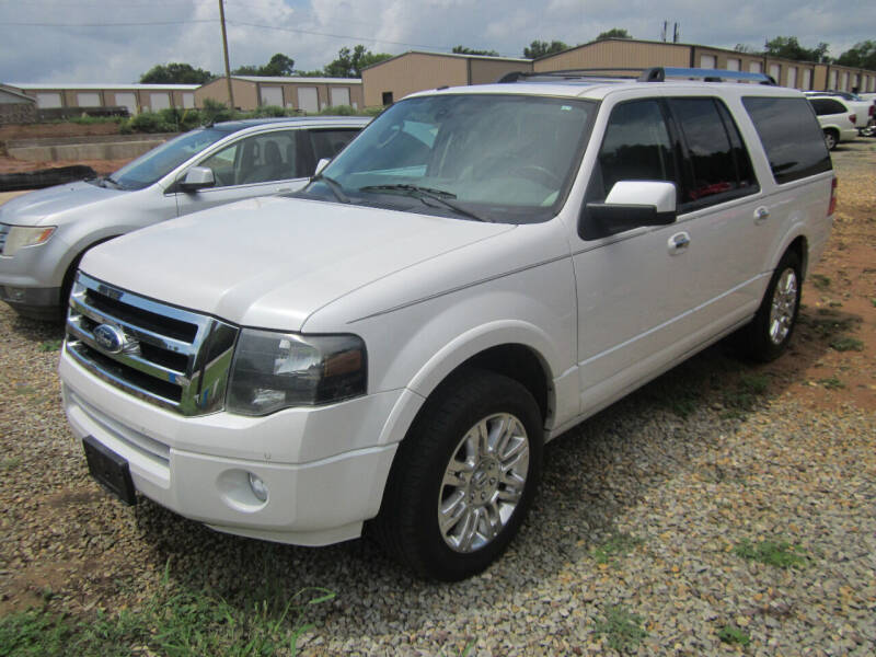 2012 Ford Expedition EL for sale at Geaux Texas Auto & Truck Sales in Tyler TX