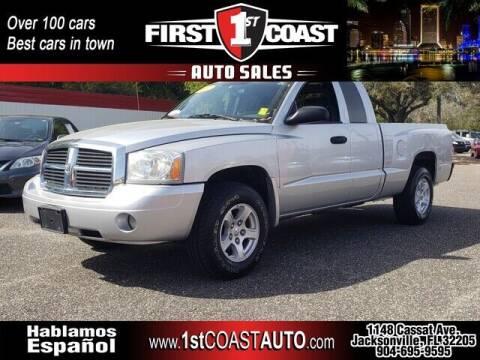 2007 Dodge Dakota for sale at 1st Coast Auto -Cassat Avenue in Jacksonville FL
