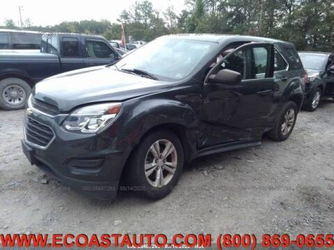 2017 Chevrolet Equinox for sale at East Coast Auto Source Inc. in Bedford VA