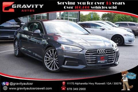 2018 Audi A5 Sportback for sale at Gravity Autos Roswell in Roswell GA