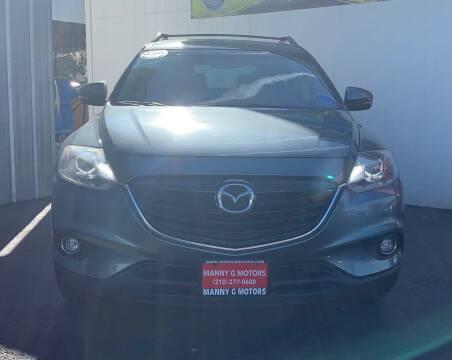 2013 Mazda CX-9 for sale at Manny G Motors in San Antonio TX