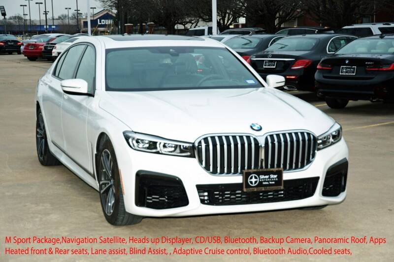 2020 BMW 7 Series for sale at Silver Star Motorcars in Dallas TX
