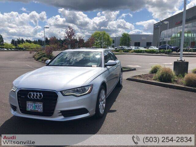 2015 Audi A6 for sale in Wilsonville, OR
