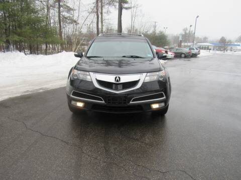 2012 Acura MDX for sale at Heritage Truck and Auto Inc. in Londonderry NH