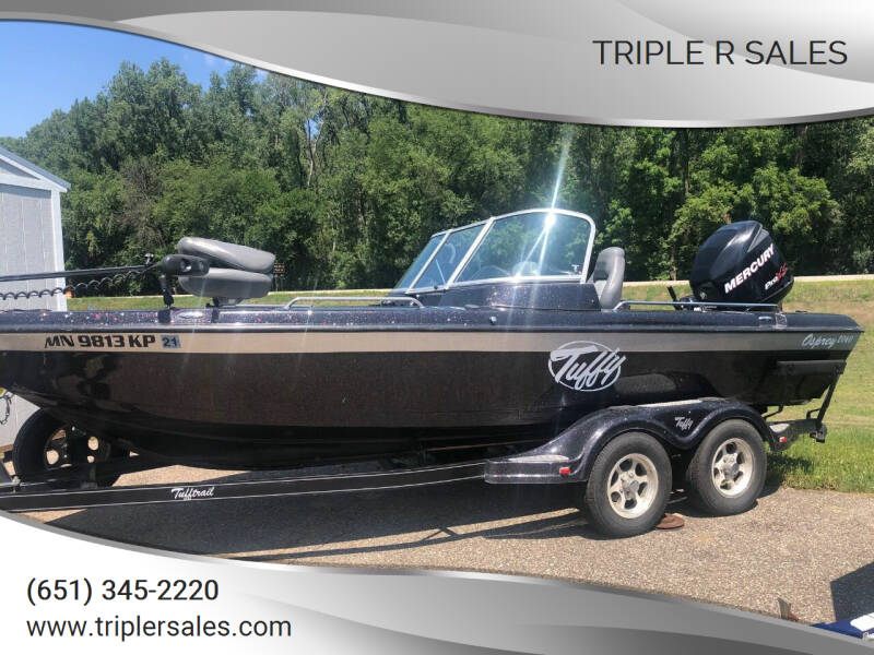 2010 Tuffy 2060 Osprey for sale at Triple R Sales in Lake City MN