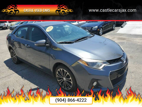 2014 Toyota Corolla for sale at Castle Used Cars in Jacksonville FL