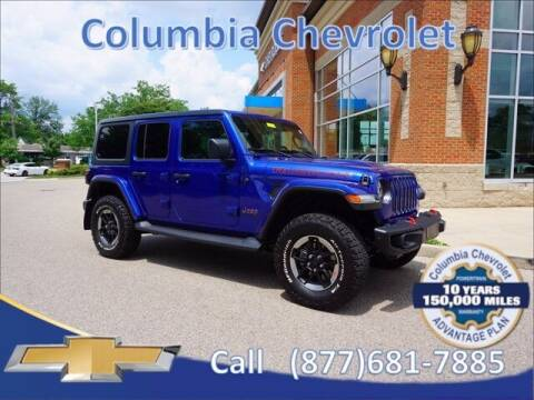 2018 Jeep Wrangler Unlimited for sale at COLUMBIA CHEVROLET in Cincinnati OH