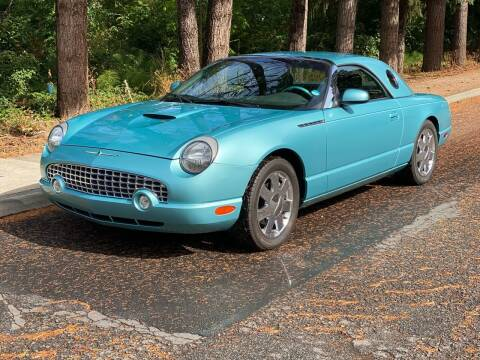 2002 Ford Thunderbird for sale at PDX Car People LLC in Milwaukie OR
