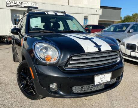 2012 MINI Cooper Countryman for sale at KAYALAR MOTORS in Houston TX