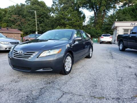 2007 Toyota Camry Hybrid for sale at Mack's Auto Sales in Forest Park GA
