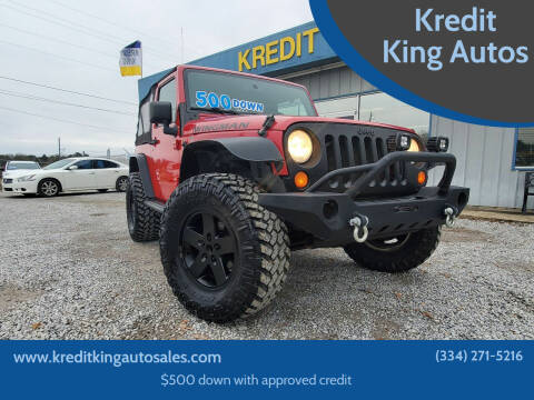 2007 Jeep Wrangler for sale at Kredit King Autos in Montgomery AL