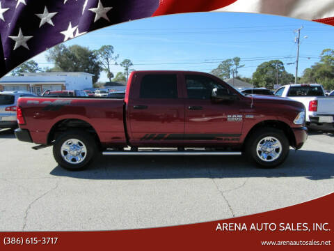 2015 RAM Ram Pickup 2500 for sale at ARENA AUTO SALES,  INC. in Holly Hill FL