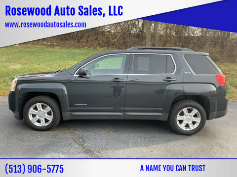 2013 GMC Terrain for sale at Rosewood Auto Sales, LLC in Hamilton OH