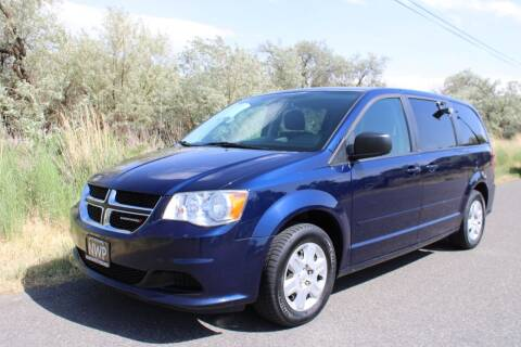 2012 Dodge Grand Caravan for sale at Northwest Premier Auto Sales in West Richland And Kennewick WA