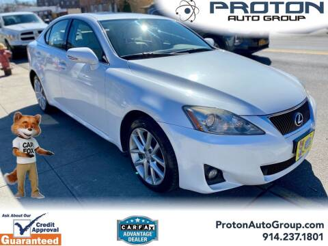 2011 Lexus IS 250 for sale at Proton Auto Group in Yonkers NY