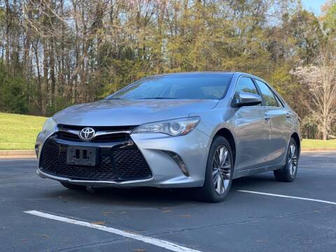 2016 Toyota Camry for sale at Top Notch Luxury Motors in Decatur GA