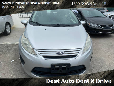 2013 Ford Fiesta for sale at Best Auto Deal N Drive in Hollywood FL