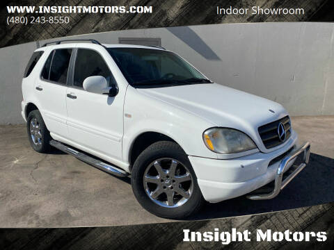 2000 Mercedes-Benz M-Class for sale at Insight Motors in Tempe AZ