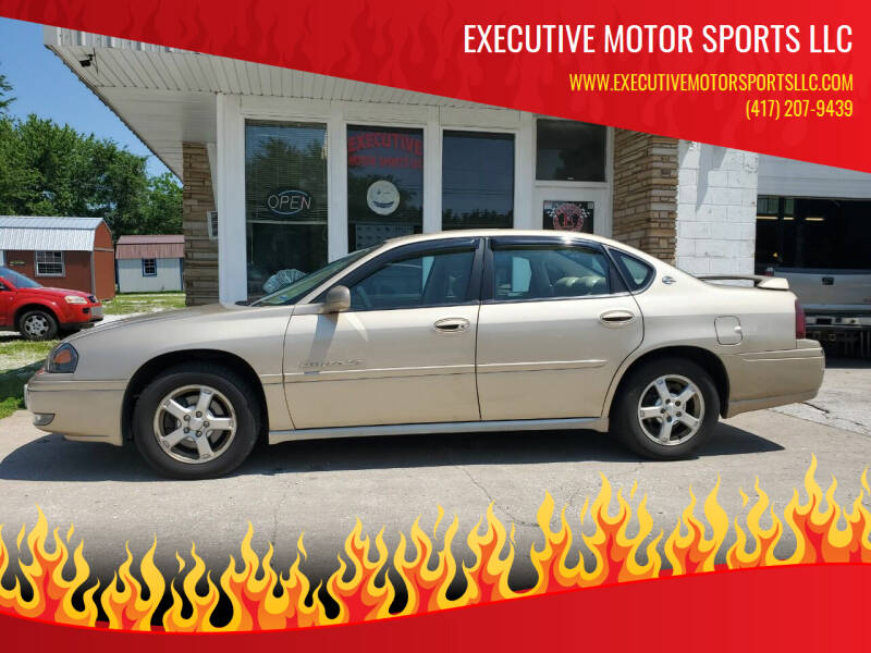2004 Chevrolet Impala for sale at Executive Motor Sports LLC in Sparta MO