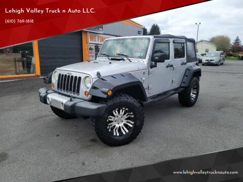 2008 Jeep Wrangler Unlimited for sale at Lehigh Valley Truck n Auto LLC. in Schnecksville PA