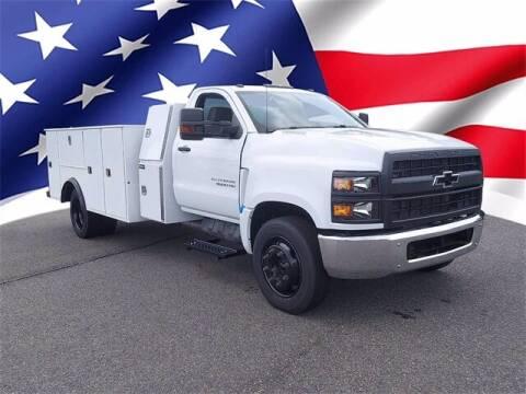 2021 Chevrolet Silverado 4500HD Utility Body for sale at Gentilini Motors in Woodbine NJ
