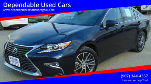 2016 Lexus ES 350 for sale at Dependable Used Cars in Anchorage AK
