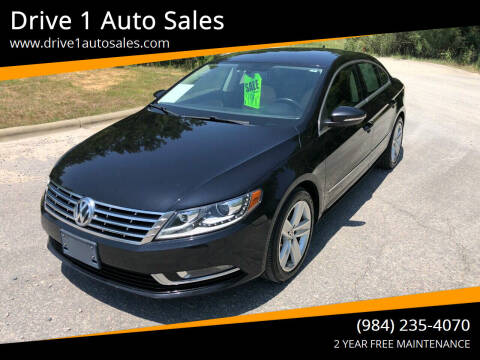 2013 Volkswagen CC for sale at Drive 1 Auto Sales in Wake Forest NC