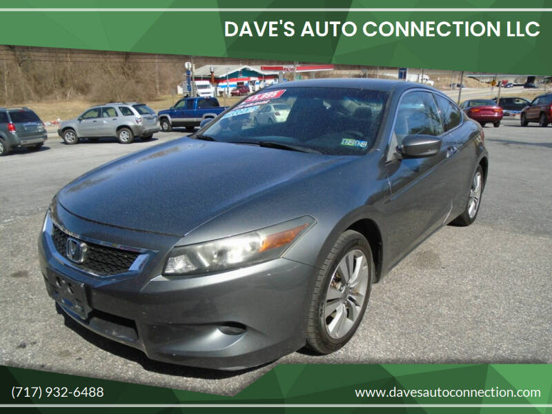 2008 Honda Accord for sale at DAVES AUTO CONNECTION in Etters PA