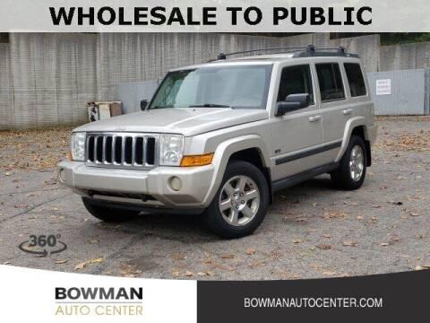 2007 Jeep Commander for sale at Bowman Auto Center in Clarkston MI