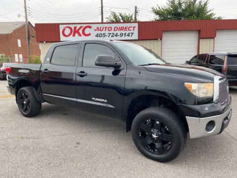 2012 Toyota Tundra for sale at OKC Auto Direct, LLC in Oklahoma City OK