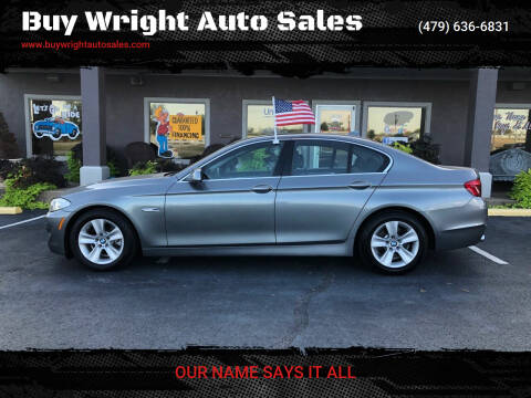 2013 BMW 5 Series for sale at Buy Wright Auto Sales in Rogers AR