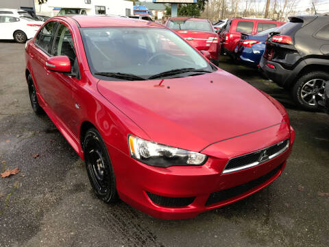 2015 Mitsubishi Lancer for sale at Autos Cost Less LLC in Lakewood WA