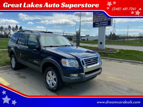 2006 Ford Explorer for sale at Great Lakes Auto Superstore in Pontiac MI