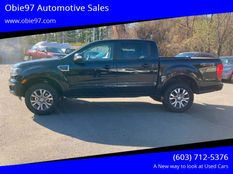 2020 Ford Ranger for sale at Obie97 Automotive Sales in Londonderry NH
