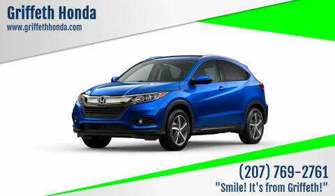 2021 Honda HR-V for sale at Griffeth Honda in Presque Isle ME