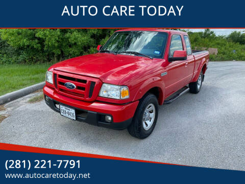 2006 Ford Ranger for sale at AUTO CARE TODAY in Spring TX