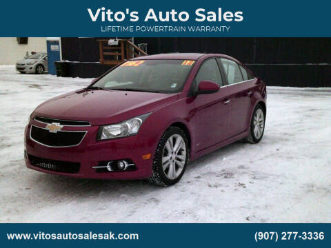 2012 Chevrolet Cruze for sale at Vito's Auto Sales in Anchorage AK