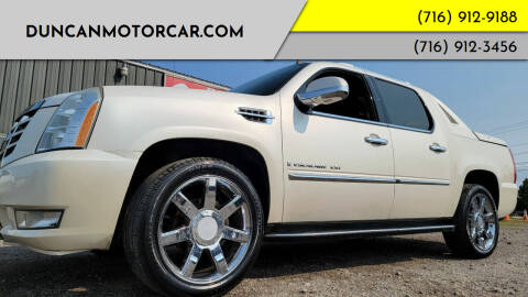 2007 Cadillac Escalade EXT for sale at DuncanMotorcar.com in Buffalo NY